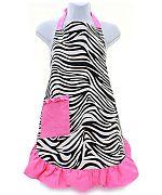 Pink Zebra Apron             #AH-AP1200-ZPK