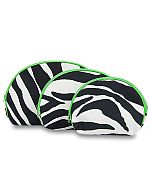 3pc.Green Zebra Set
