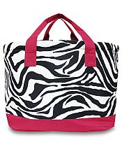 Large Burgundy Zebra Cooler