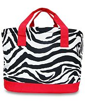 Large Red Zebra Cooler