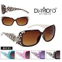 Zebra Fleur De Li's Sunglasses             #CTS-DI131