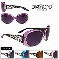 Rhinestone Bling Diamond Sunglasses    #CTSW-DI116