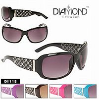 Rhinestone Diamond Bling Sunglasses            #CTSW-DI118