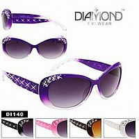 Rhinestone Bling Diamond Sunglasses     #CTSW- DI140