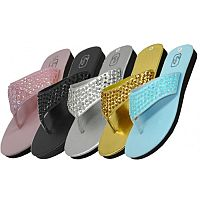 Colored Sequin Wedding Sandals     #EAS-5