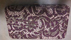 Purple Lace Wallet    #lacewallet