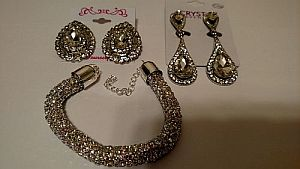 Bling Rhinestone Jewelry    #bling