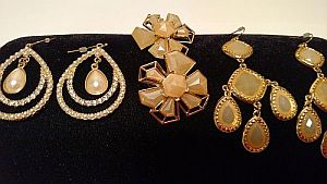 Natural Colored Earrings  #MISC6