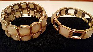 Natural Colored Stretch Bracelets   #MISC8