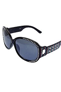 Pink & Blue Rhinestone Star Sunglasses    #O-JSE-3625multi