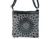 Black Rhinestone Messenger Bag                #LGH-111-5BK
