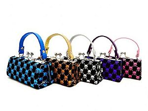 One Dozen Halloween Scull Design Mini Purses  #LQ89