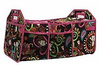 Hot Pink Monkey Insulated Travel Organizer
