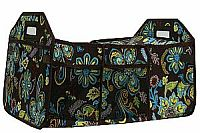 Turquoise Floral Insulated Travel Organizer