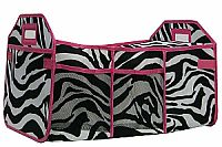 Pink Zebra Insulated Travel Organizer