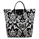 Black Damask Bag