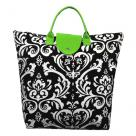 Green Damask Bag