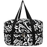 Black Damask Crock Pot Carrier           #MW-BlackDamaskCarrier