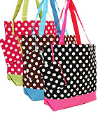 Polka Dot Shoulder Bags