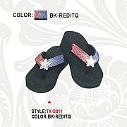 Montana West Fourth of July Flip Flops                   #PH-TX-S011