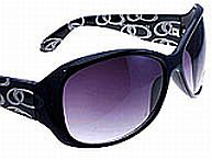 Black Circle Sunglasses          #RI-NYA0210BLK