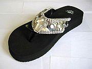 Isabella Camo Cross Flip Flops                             #LGHS-CamoCrossS006