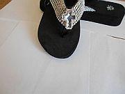 Isabella Rhinetone Cross One Inch Flip Flops                     #LGHS-crossS033