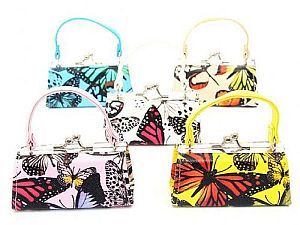One Dozen Butterfly Design Mini Purses   #HEX35