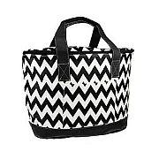 Black Chevron Insulated Cooler Bag                #SW-CS3504BLK