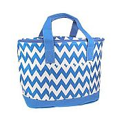 Blue Chevron Insulated Cooler Bag          #SW-CS3504BLUE