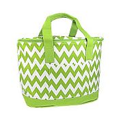 Green Chevron Insulated Cooler Bag                   #SW-CS3504GRN