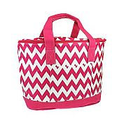 Hot Pink Chevron Insulated Cooler Bag                  #SW-CS3504PNK