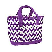 Purple Chevron Insulated Cooler Bag                      #SW-CS3504PP