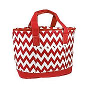 Red Chevron Insulated Cooler Bag                        #SW-CS3504RED