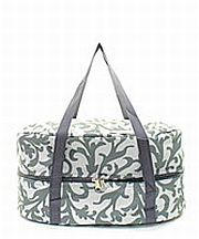 Gray Vine Design Crock Pot Carrier                  #TTIW-RMK659GRY
