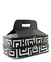 Black Greek Design Double Food Carrier           #TTIW-UHB391BLK
