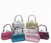 12 Glitter Mini Purses