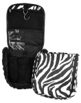 Black Zebra Travel Case