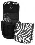 Black Zebra Travel Case