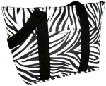 Black Zebra Insulated Bag
