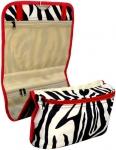 Red Hanging Zebra