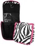 Pink Zebra Travel Case