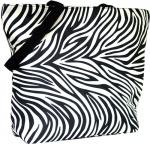 Black Zebra Tote