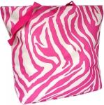 Pink Zebra Tote