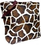 Brown Giraffe Tote