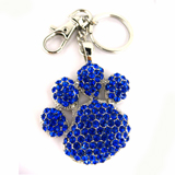 Blue Paw Key Chain