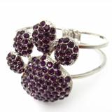 Purple Paw Bracelet