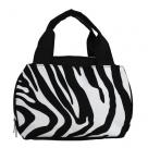 Black Zebra Lunch Bag