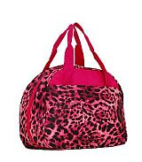 Hot Pink Leopard Print Insulated Lunch Bag
