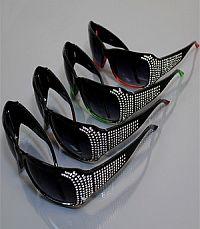 Rhinestone Sunglasses             #YK-SUND8002RS